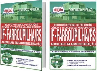 Apostila Instituto Federal Farroupilha IFFar 2018