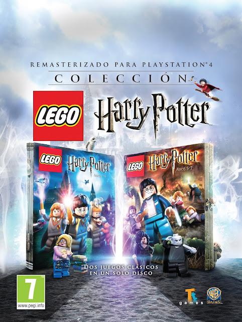 LEGO Harry Potter llegará remasterizado a PS4 este 21 de octubre