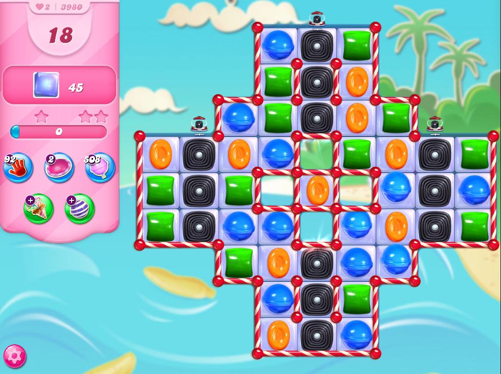 Candy Crush Saga level 3980
