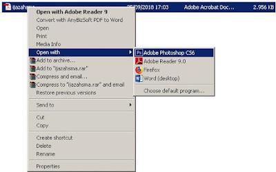 Program Photoshop dapat mengecilkan ukuran file PDF
