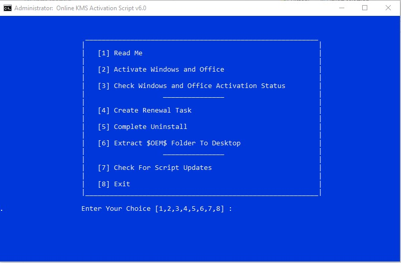 manual kms activation windows 7