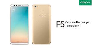 Spesifikasi dan Harga Oppo F5 di Indonesia Baru dan Bekas