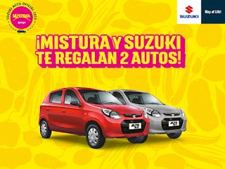 Gana un Auto Suzuki Alto 800 0KM!