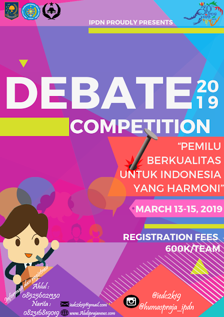 Lomba IPDN Expo Debate Competition Mahasiswa 2019