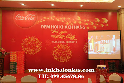 In Backdrop Coca-Cola