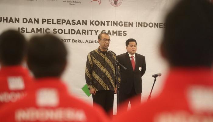 Ikuti Islamic Solidarity Games, Kontingen Indonesia ...