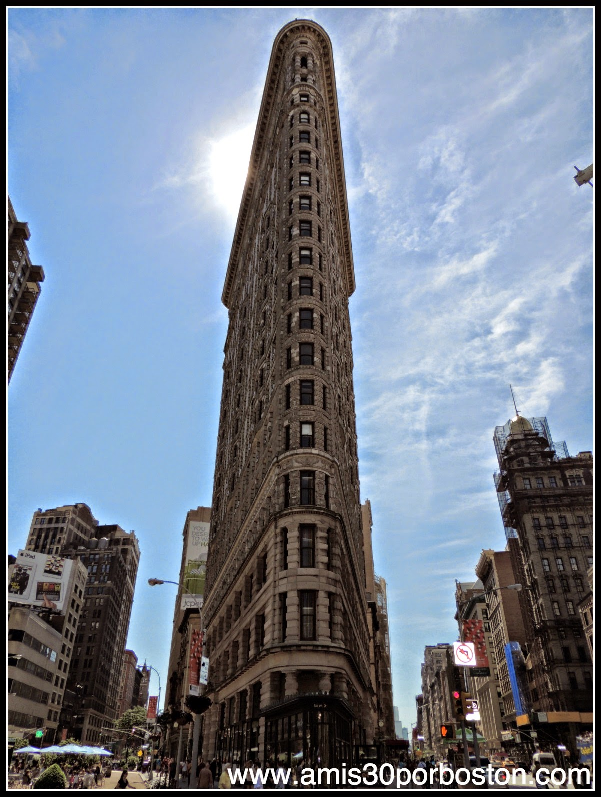 Segunda Visita a Nueva York: Edificio Flatiron
