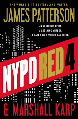 NYPD Red 4 by James Patterson and Marshall Karp-book cover