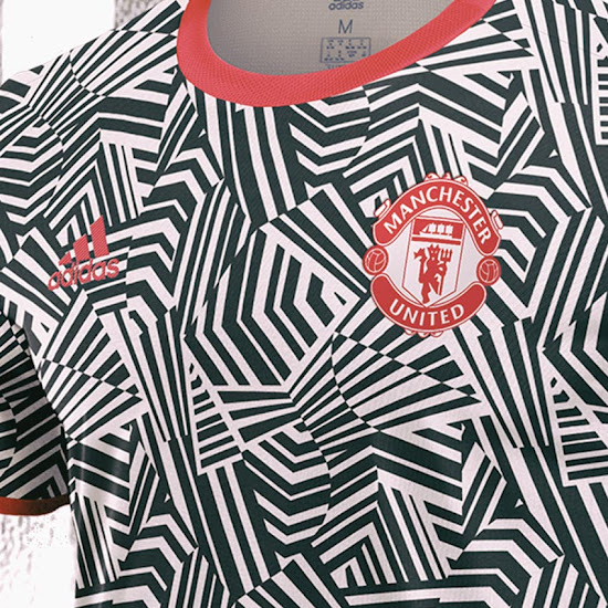 Crazy Dazzle Camo Manchester United 20 21 Third Kit Concept Revealed Footy Headlines