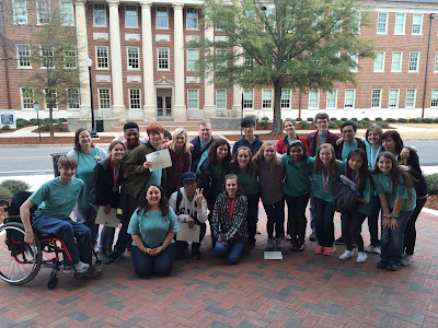 MCPS Science Olympiad Team Competes in Tuscaloosa 1