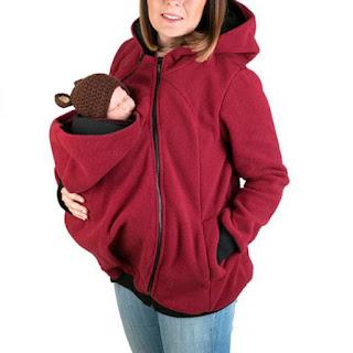 Maternity Multifunctional Kangaroo Hoodie