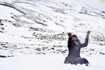 Yumsamdeong Snowing: Photo by Jayashree Sengupta @DoiBedouin