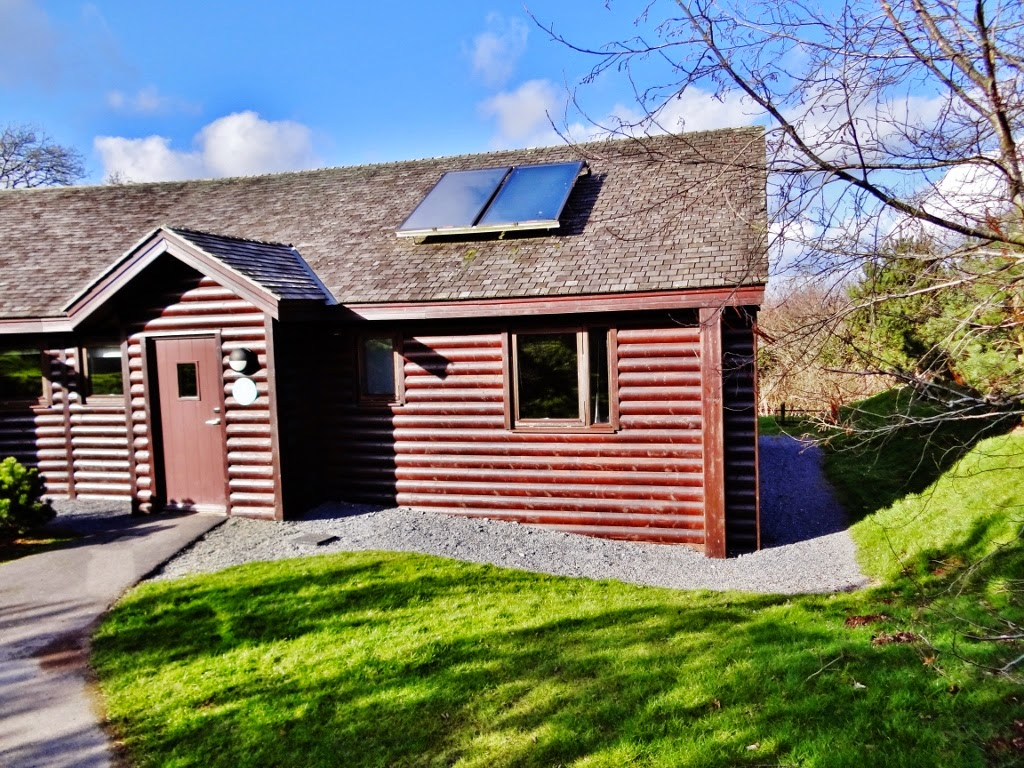 caldey lodge outside bluestones