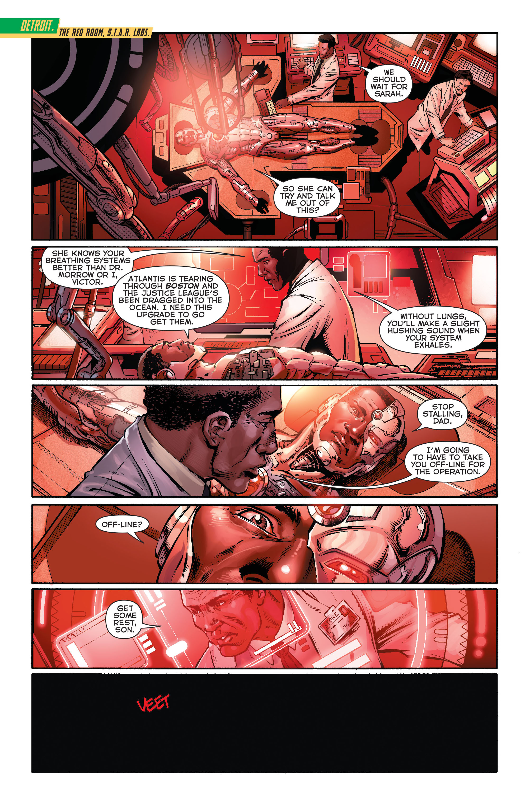 Read online Aquaman (2011) comic -  Issue #16 - 2