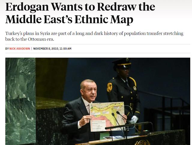 Foreign Policy για Τουρκία: Η διαχρονική τέχνη  της αλλοίωσης πληθυσμών