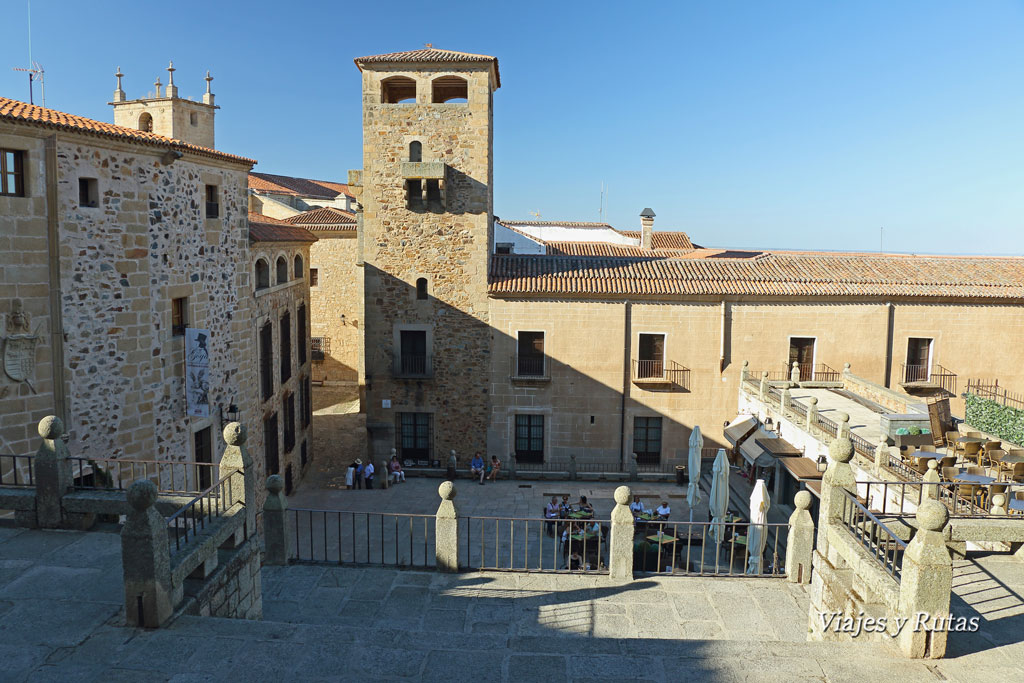 Palacio de Golfines en plaza de San Jorge, Cáceres