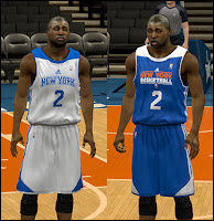 NBA 2K13 New York Knicks Practice Jersey Mod