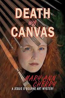 Death on Canvas (The Jessie O'Bourne art mysteries Book 1) book promotion Mary Ann Cherry