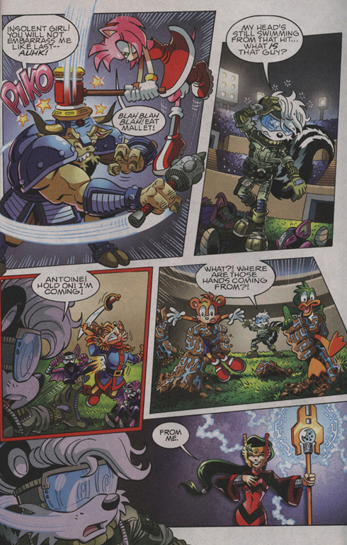 Read online Sonic The Hedgehog comic -  Issue #210 - 22