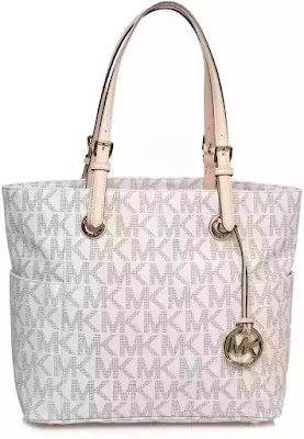f2672641c حقيبة كبيرة توتس لون ابيض للنساء Michael Kors Tote Bag 30S11TTT4B-150.  مشاهدة كامل مواصفات الحقيبة