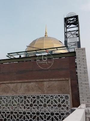 Ornamen Pagar Dan Teralis Masjid