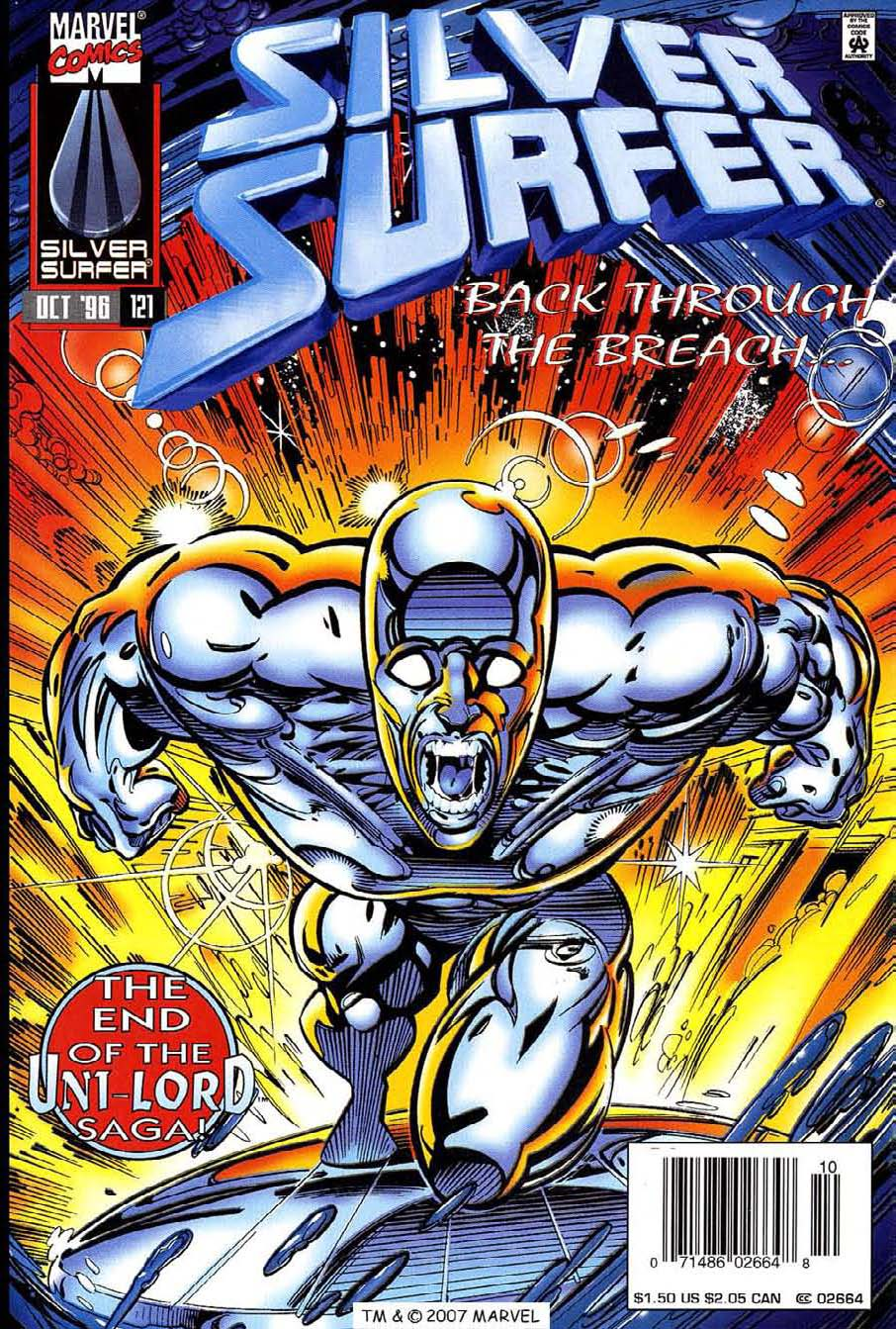 Read online Silver Surfer (1987) comic -  Issue #121 - 1