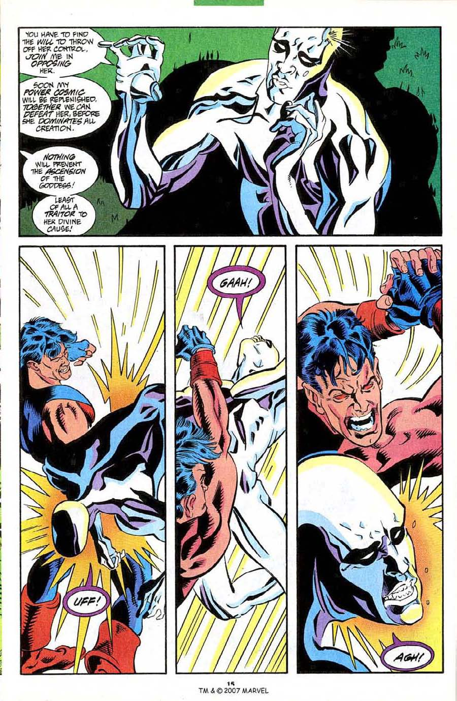 Read online Silver Surfer (1987) comic -  Issue #85 - 17