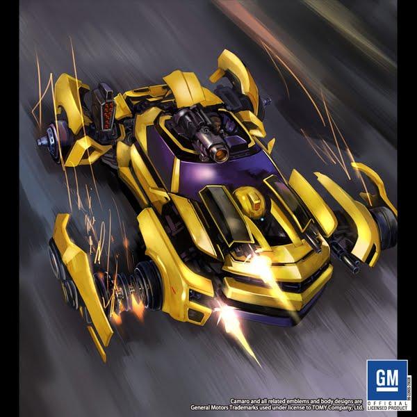 Robô Guerreiro: Desenhos Do 3º Filme Dos Transformers