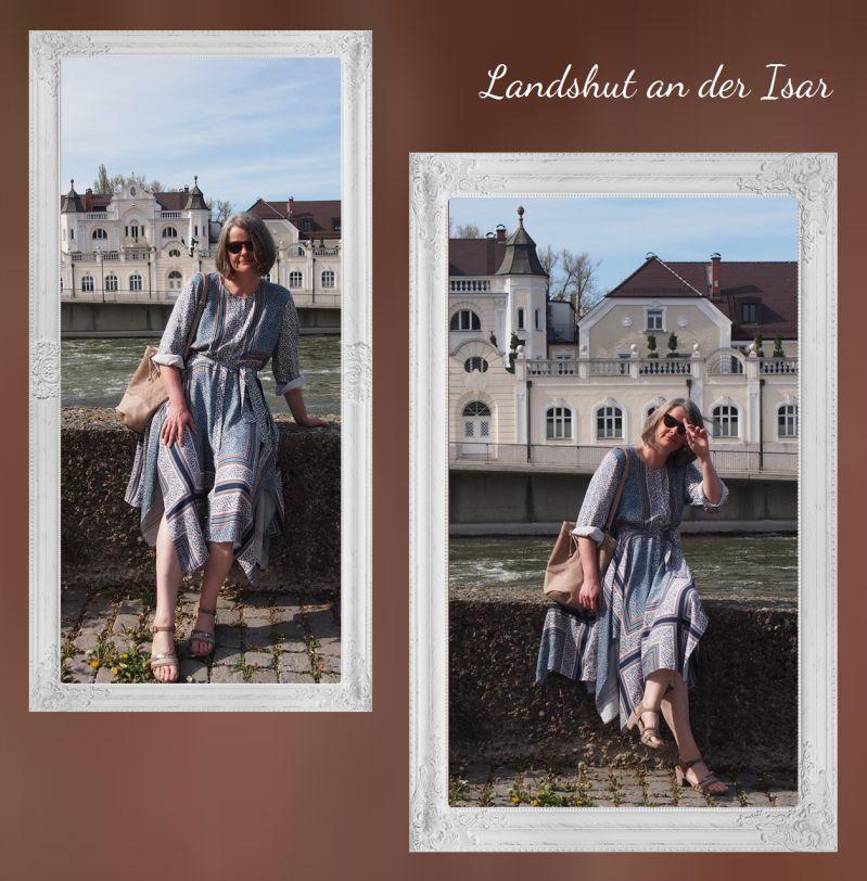 Ostermontag 2019 Sommerkleid an der Isar in Landshut