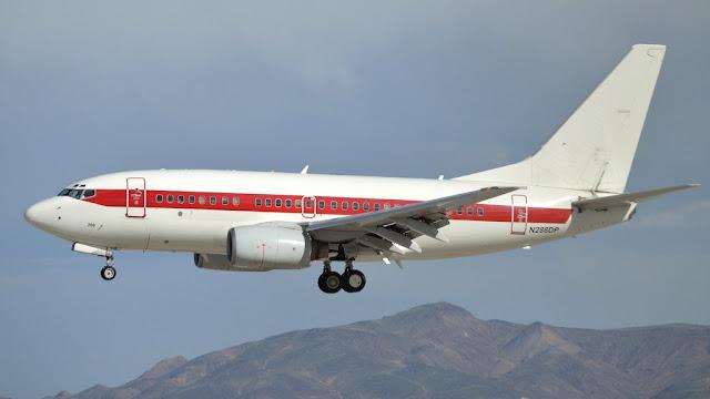 Janet Airlines a companhia aérea secreta do governo americano