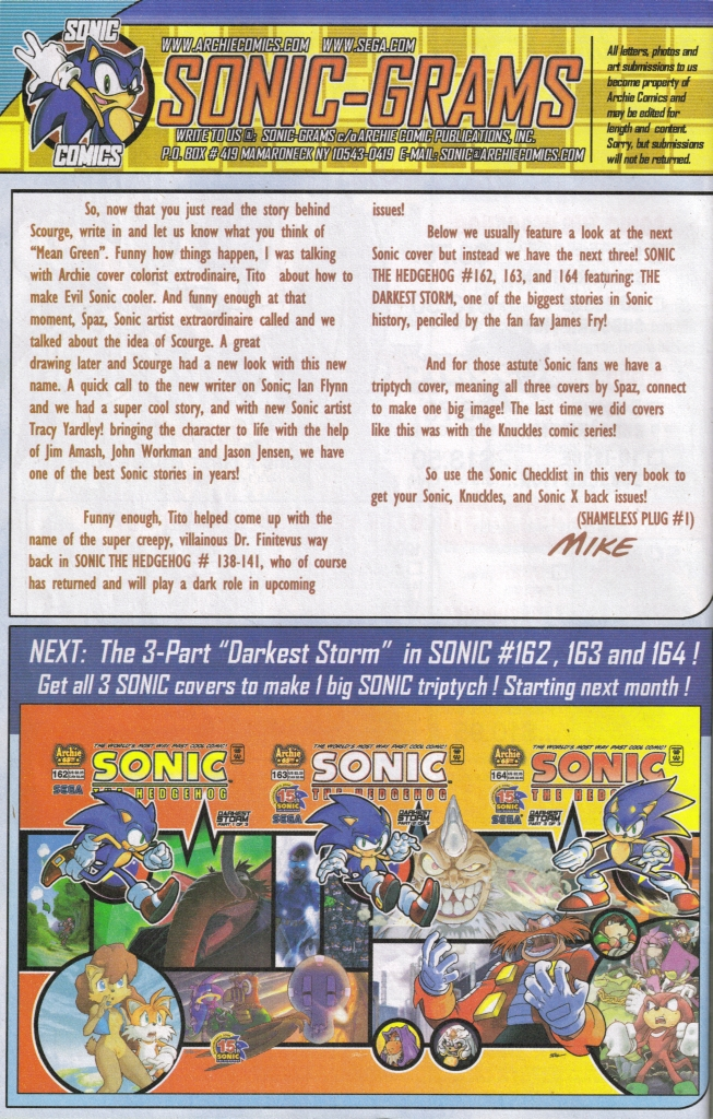 Read online Sonic The Hedgehog comic -  Issue #161 - 32