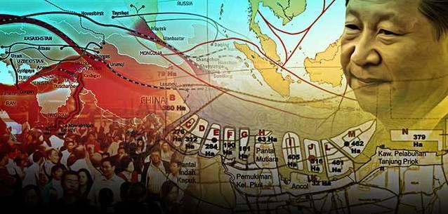 Reklamasi Teluk Jakarta, Metode utama Cina Meluaskan Ruang Hidupnya di Indonesia
