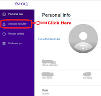 how to change yahoo mobile number for messenger