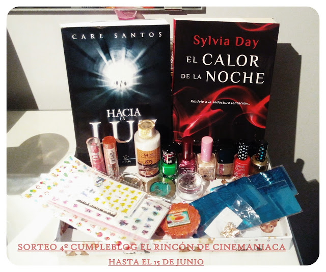 SORTEO DE CINEMANIACA
