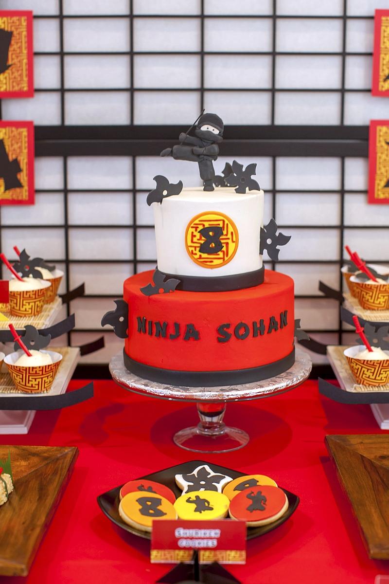 A Japanese Origami Dojo Ninja Birthday Party Party Ideas Party