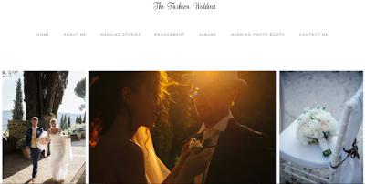 the fashion wedding foto