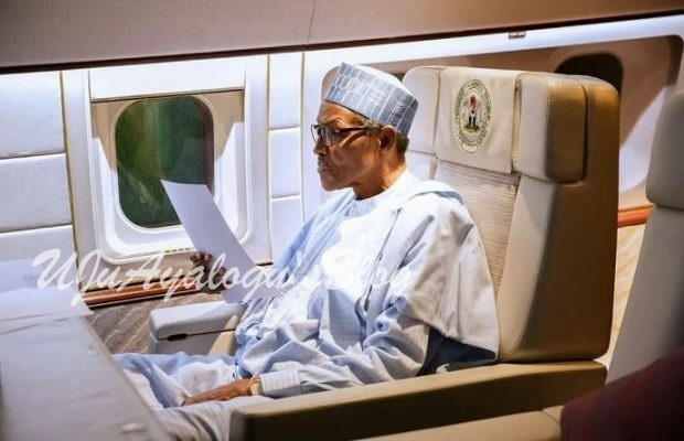 "President Buhari to ""pass through London"" after U.N. General Assembly trip"