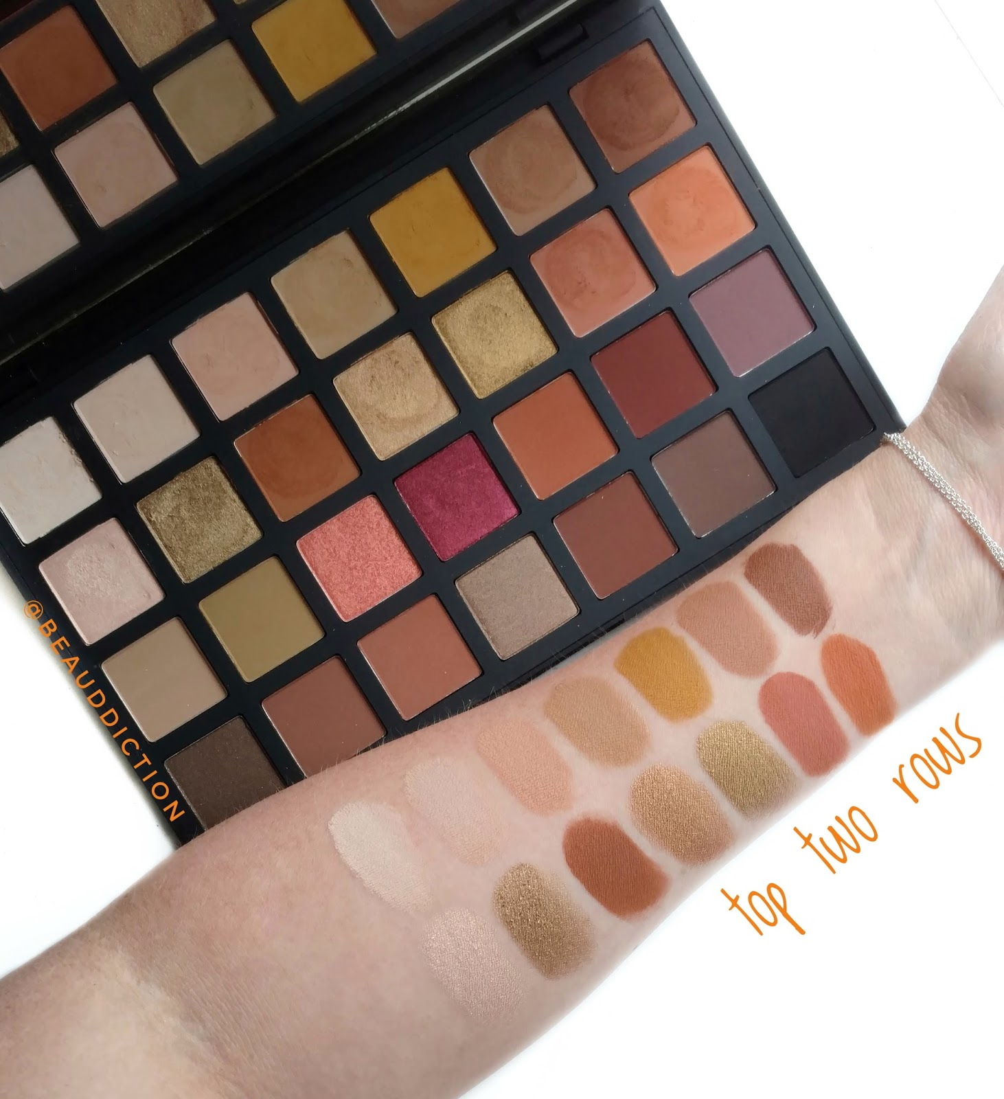 sephora collection pro warm eyeshadow palette swatches