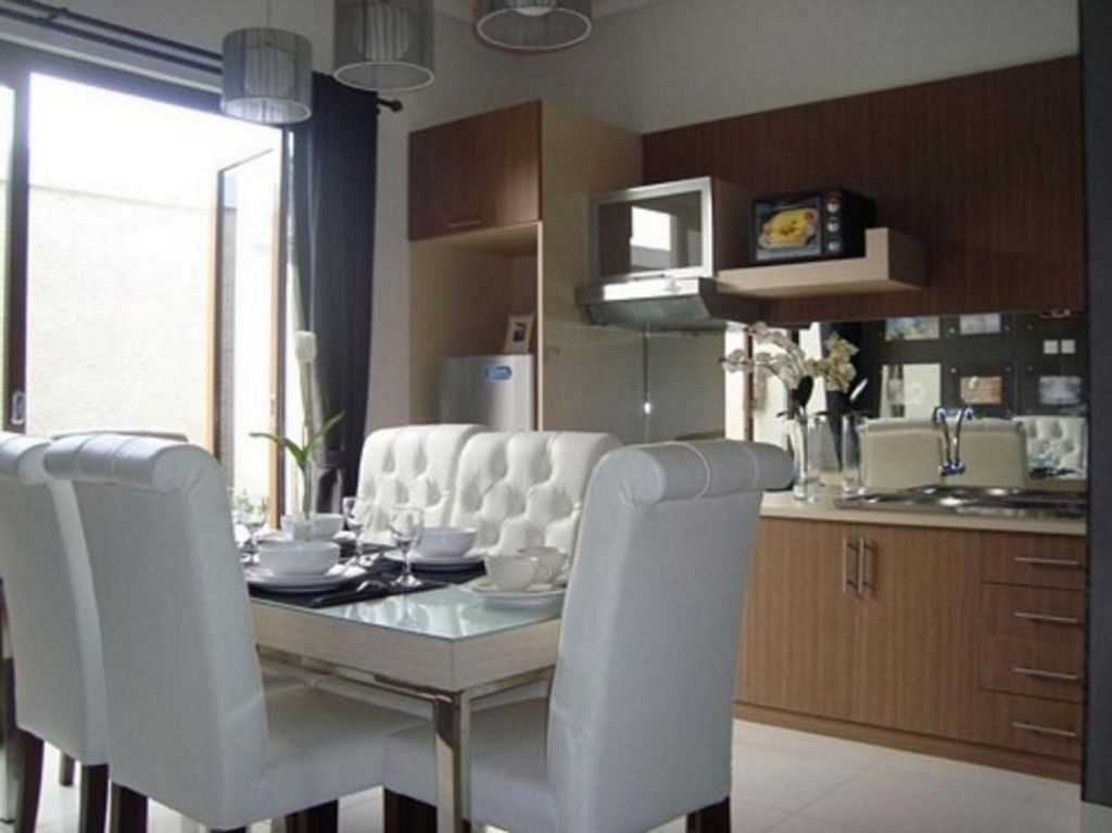 Gambar Desain Interior Interior Dapur Dan Ruang Makan Modern
