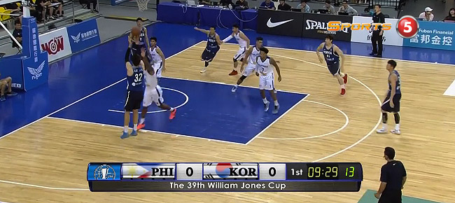 HIGHLIGHTS: Gilas Pilipinas vs. South Korea (VIDEO) Jones Cup 2017