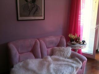 DIY...Como pintei o meu sofá, #artesanato #DIY #Manualidades, #Decoração, pintura,