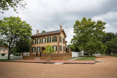 Lincoln Home National HIstoric Site Springfield Route 66 Illinois_by_Laurence Norah