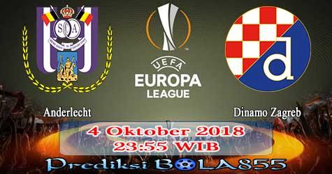 Prediksi Bola855 Anderlecht vs Dinamo Zagreb 4 Oktober 2018