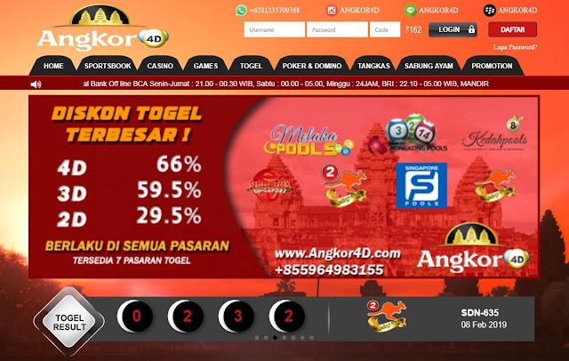 Agen Togel Online Resmi Di Angkor4D.Net