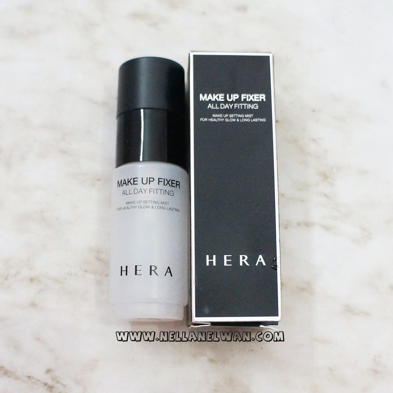 hera make up fixer all day fitting spray review nellanelwan