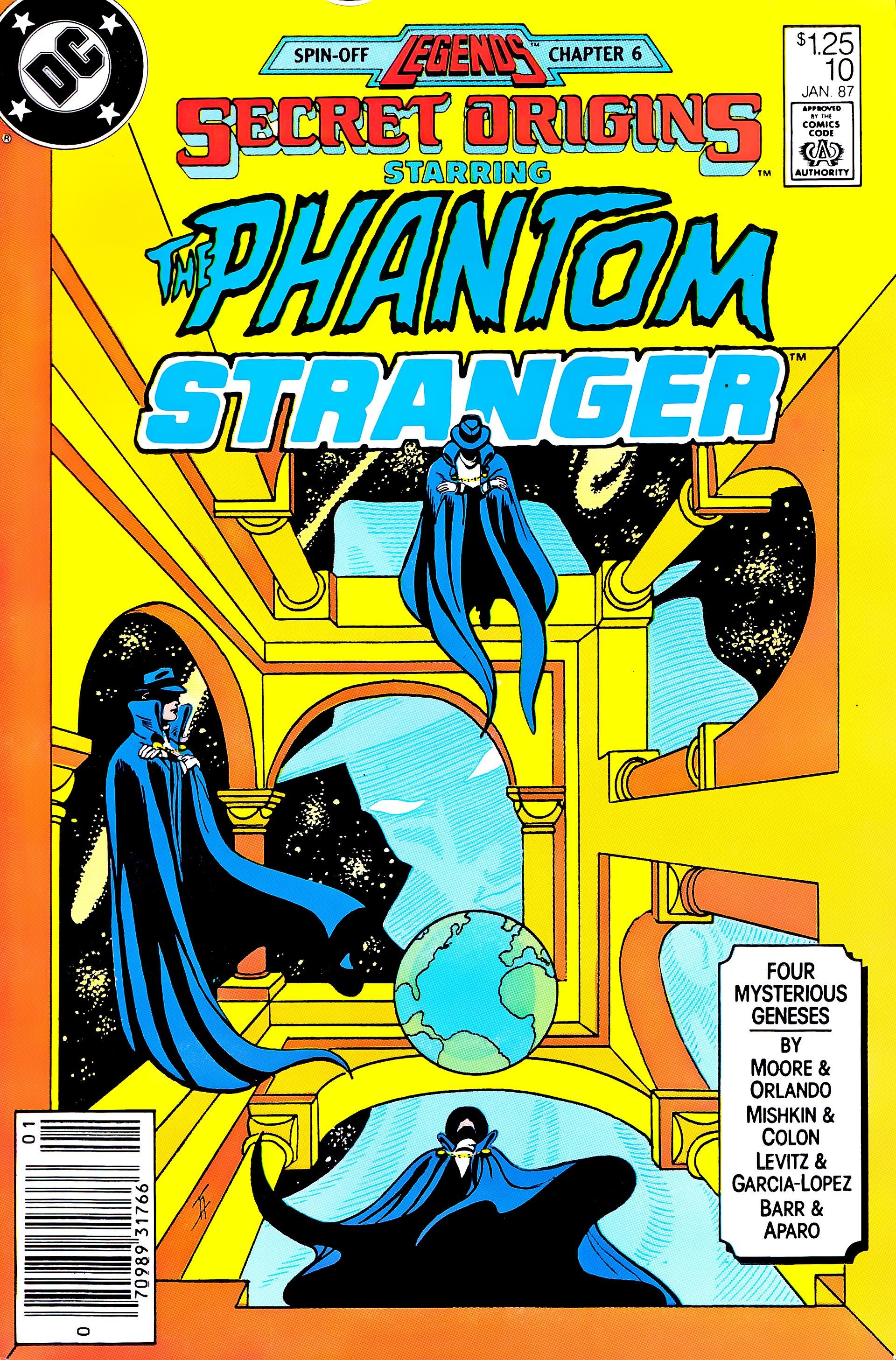 Read online Secret Origins (1986) comic -  Issue #10 - 1