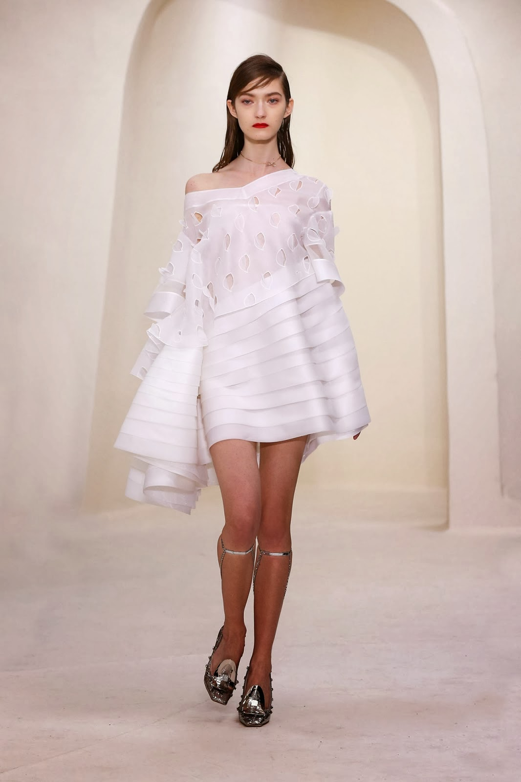 Dior Kleid Kleider 2014 Dior Frühjahr Sommerkleid ...
