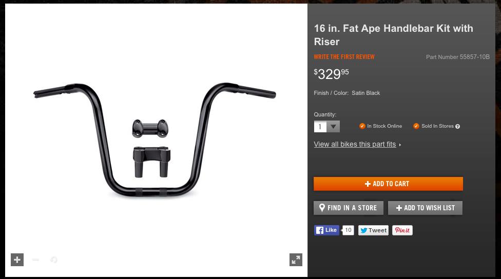 question  those running 16 fat ape handlebar kit with riser  u2013 56942-10