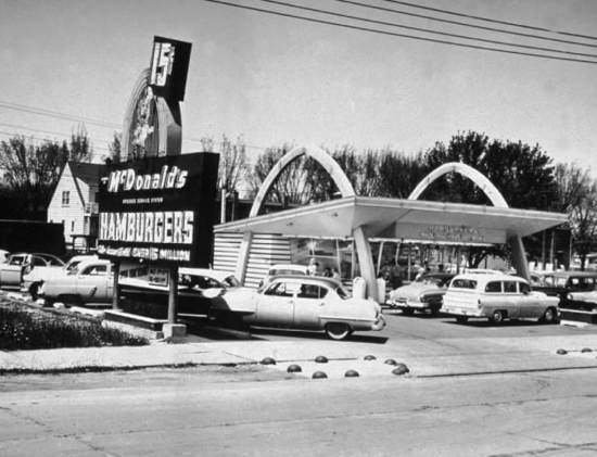 McDonald's in Des Plaines in 1955