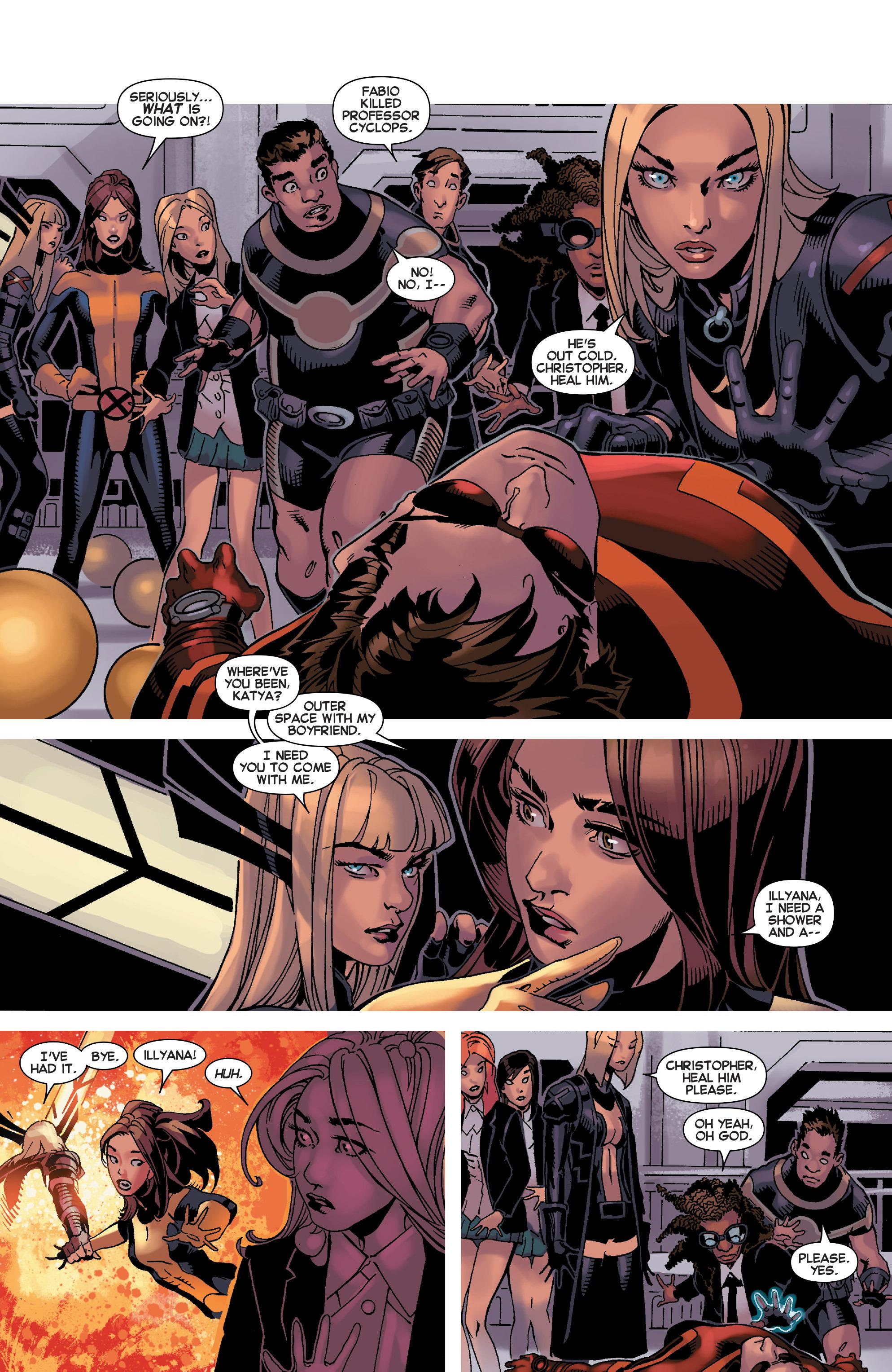 Read online Uncanny X-Men (2013) comic -  Issue #32 - 10